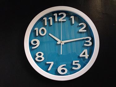 นาฬิกาบ้านยี่ห้อ Good รหัส 182 สี ฟ้า