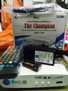 กล่องทีวีดิจิตอล oneboxhome รุ่น champion