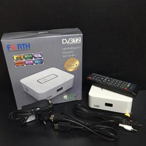 กล่องทีวี FORTH DVB-T2-01