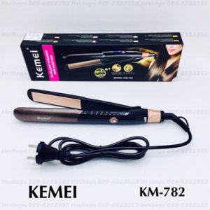 เครื่องหนีบผมไฟฟ้าอย่างดี Kemei รุ่น KM-782