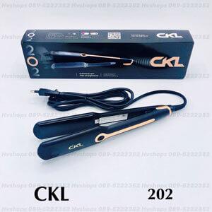 เครื่องหนีบผมไฟฟ้า CKL-202
