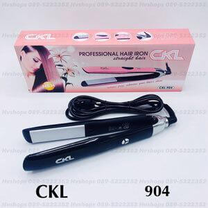 เครื่องหนีบผมไฟฟ้ายี่ห้อ CKL-904