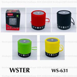 ลําโพงบลูทูธยี่ห้อ WSTER รุ่น WS-631