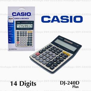 เครื่องคิดเลขแท้ Casio รุ่น DJ-240D PLUS