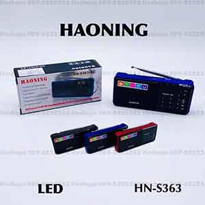 วิทยุแบบจอLED HAONING รุ่น HN-S363