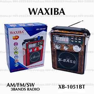 วิทยุแบบมีบลูทูธในตัว ยี่ห้อ WAXIBA XB-1051BT