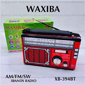 วิทยุบลูทูธไร้สายพร้อมหูจับ ยี่ห้อ WAXIBA รุ่น XB-394BT