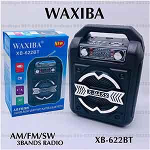 วิทยุบลูทูธแบบมีหูพกพาได้ WAXIBA รุ่น XB-622BT
