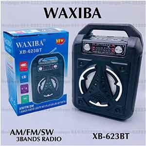 วิทยุบลูทูธพกพาพร้อมเสาอากาศ WAXIBA รุ่น XB-623BT