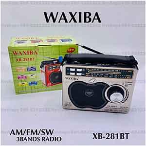 วิทยุบลูทูธลายตาข่ายแอปเปิ้ล ยี่ห้อ WAXIBA รุ่น XB281BT