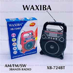 วิทยุบลูทูธไร้สายมีหูจับ ยี่ห้อ WAXIBA รุ่น XB-724BT
