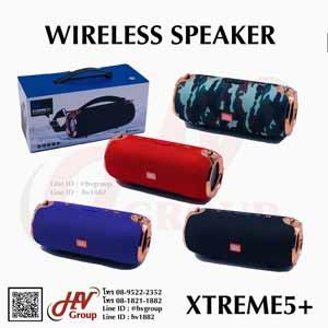 ลำโพงไร้สายเชื่อมบลูทูธ Wireless speaker Streme5+