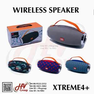 ลำโพงพกพาทรงกระบอก Wireless speaker Xtreme 4 Plus